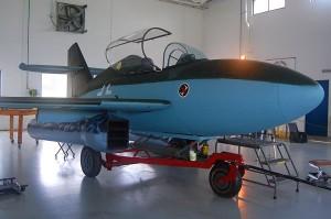 Лёгкий бомбардировщик Мессершмитт Me 328.